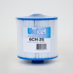 Filtro de UNICEL 6CH 25 compatible con carga Superior