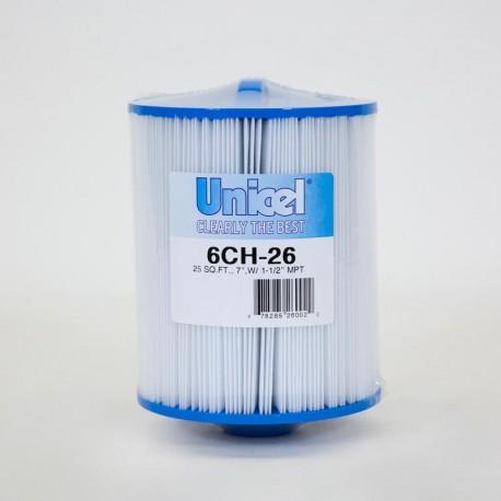 Filtro de UNICEL 6CH 26 compatible con carga Superior