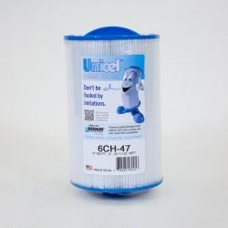 Filtro de UNICEL 6CH 47 carga Superior vs PTL47W, 60471, FC-0315