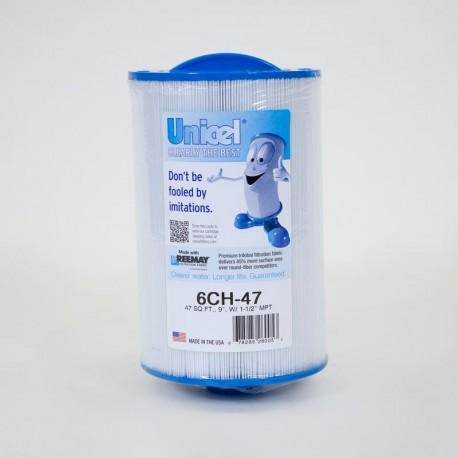 Filtro de UNICEL 6CH 47 compatible con carga Superior