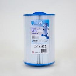 Cartucho de UNICEL 7CH 552 compatible parte Superior de la carga de Dimensión Uno de los Spas
