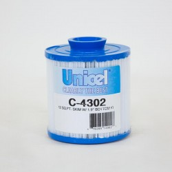 Filtre UNICEL C 4302 compatible Pleatco skim filter, Softsider...
