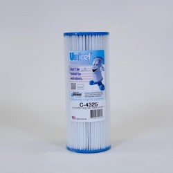 Filtro de piscina UNICEL C 4325 compatible Hayward CX225RE, American...