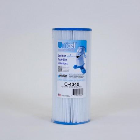Filtro UNICEL C-4340 compatibile Dimensione di Uno Terme