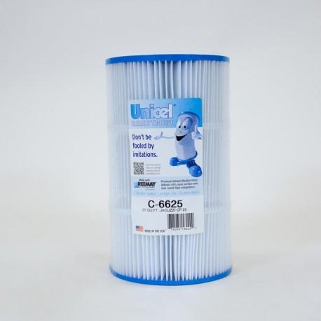 Filtro de UNICEL C 6625 compatible con Jacuzzi CF 25