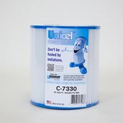 Filtro de piscina UNICEL C 7330 compatible con Micro Filtro, 7 1/4 OAL