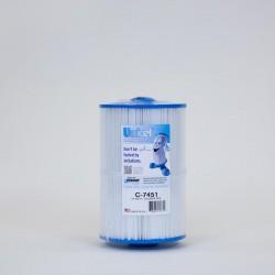 En el filtro de UNICEL C-7451 compatible con Caldera Spas