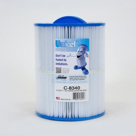 Filtro de UNICEL C 8340 compatible con Hayward CX400RE descremada filtro