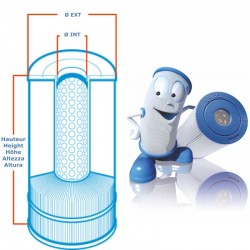 Filter UNICEL C 8320 compatible Sundance Spas