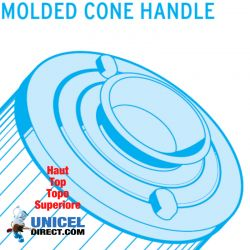 Filtro de UNICEL C 4303 compatible Pleatco skil filtro, Softsider Spas
