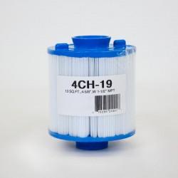 Filtro de UNICEL 4CH 19 compatível com carga Superior