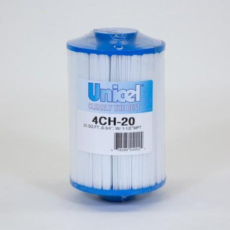 Filtro de UNICEL 4CH 20 compatible con carga Superior