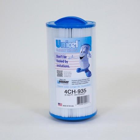 Filtro de UNICEL 4CH 935 compatível Waterway