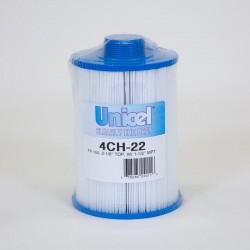 Filtro de UNICEL 4CH 22 compatível Freeflow Spas CLX