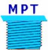 Filetage filtre MPT pour cartouche de filtration de remplacement