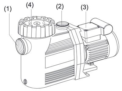 schema schema della composizione della pompa autoadescante SPECK Badu